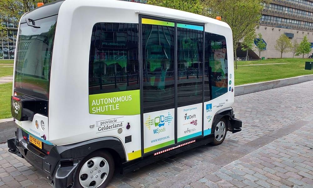 Radd Autonomous Shuttle the Netherlands
